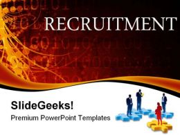 Recruitment Business Abstract PowerPoint Templates And PowerPoint Backgrounds 0411