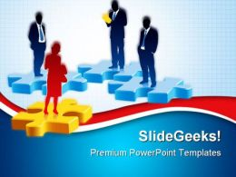 Recruitment For Job Competition PowerPoint Templates And PowerPoint Backgrounds 0511