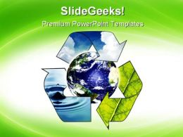 Recycle Environment PowerPoint Templates And PowerPoint Backgrounds 0711
