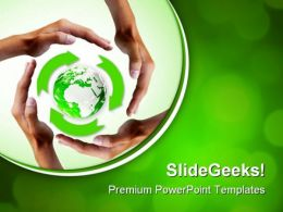 Recycle Global PowerPoint Templates And PowerPoint Backgrounds 0811