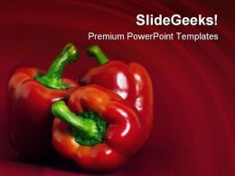 Red Chilli Food PowerPoint Templates And PowerPoint Backgrounds 0211
