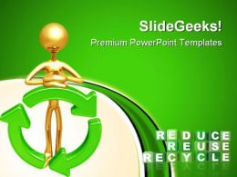 Reduce Reuse Recycle Nature PowerPoint Templates And PowerPoint Backgrounds 0911
