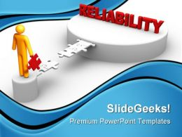Reliability Business PowerPoint Templates And PowerPoint Backgrounds 0911