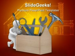 Repairman Construction01 Realestate PowerPoint Backgrounds And Templates 0111