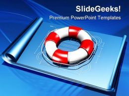 Rescue Plan Business PowerPoint Templates And PowerPoint Backgrounds 0711