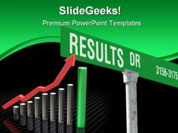 Results Business PowerPoint Template 0610