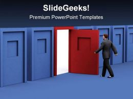 Right Decision Business PowerPoint Templates And PowerPoint Backgrounds 0611