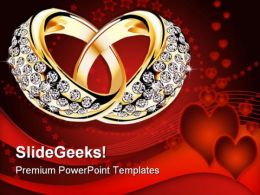 Rings Wedding PowerPoint Templates And PowerPoint Backgrounds 0311