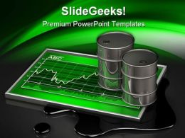 Rising Oil Prices Industrial PowerPoint Templates And PowerPoint Backgrounds 0211