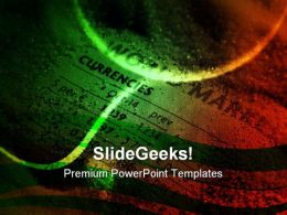 Risk In Currency Markets Abstract PowerPoint Templates And PowerPoint Backgrounds 0711