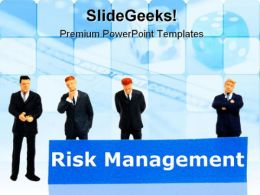 Risk Management Business PowerPoint Template 1110
