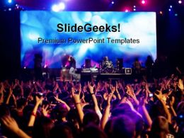 Rock Concert Music PowerPoint Templates And PowerPoint Backgrounds 0211