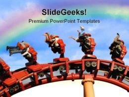 Roller Coaster Holidays PowerPoint Templates And PowerPoint Backgrounds 0111