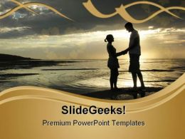 Romantic Couple Youth PowerPoint Templates And PowerPoint Backgrounds 0811