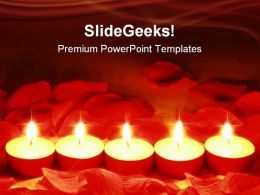 Romantic Lights Holidays PowerPoint Templates And PowerPoint Backgrounds 0611