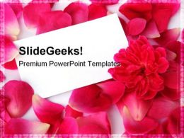 Rose Petals Beauty PowerPoint Templates And PowerPoint Backgrounds 0311