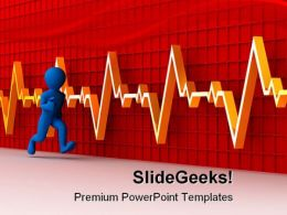 Running Man Business PowerPoint Template 1110
