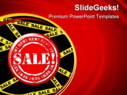 Sale Tag Marketing PowerPoint Templates And PowerPoint Backgrounds 0811
