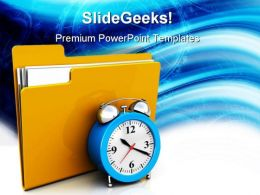 Scheduling Folder Security PowerPoint Templates And PowerPoint Backgrounds 0311