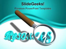 Search Resources Business PowerPoint Templates And PowerPoint Backgrounds 0711