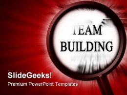 Search Team Building Metaphor PowerPoint Templates And PowerPoint Backgrounds 0811