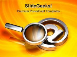 Searching For Email Internet PowerPoint Templates And PowerPoint Backgrounds 0711