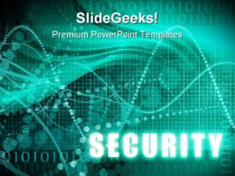 Security Background PowerPoint Templates And PowerPoint Backgrounds 0911