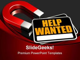 Seeking Help Metaphor PowerPoint Templates And PowerPoint Backgrounds 0811