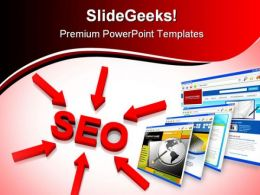Seo Business PowerPoint Backgrounds And Templates 1210