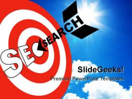 Seo Search Business PowerPoint Template 0910