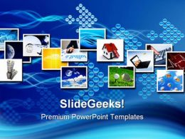 Several Images Business PowerPoint Templates And PowerPoint Backgrounds 0511