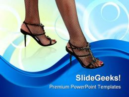 Sexy Feet01 Lifestyle PowerPoint Templates And PowerPoint Backgrounds 0311