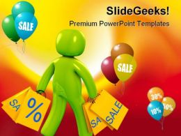 Shopping Sales PowerPoint Templates And PowerPoint Backgrounds 0311