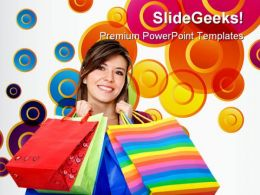 Shopping Woman01 Sales PowerPoint Templates And PowerPoint Backgrounds 0311