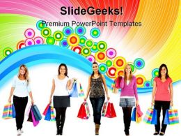 Shopping Women02 Sales PowerPoint Templates And PowerPoint Backgrounds 0311