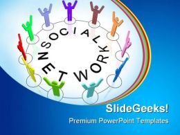 Social Network People PowerPoint Backgrounds And Templates 0111