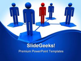 Social Network System Communication PowerPoint Templates And PowerPoint Backgrounds 0511