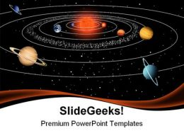 Solar System Earth PowerPoint Templates And PowerPoint Backgrounds 0411