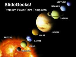 Solar System Science PowerPoint Templates And PowerPoint Backgrounds 0411