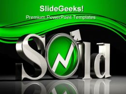 Sold Business PowerPoint Templates And PowerPoint Backgrounds 0311
