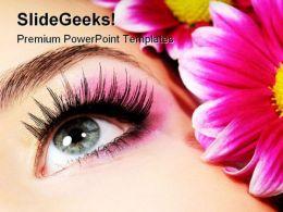 Spa Beauty PowerPoint Template 0910