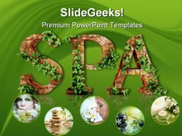 Spa Beauty PowerPoint Templates And PowerPoint Backgrounds 0211