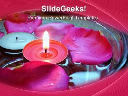 Spa Candles Beauty PowerPoint Templates And PowerPoint Backgrounds 0311
