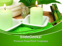 Spa Composition Beauty PowerPoint Templates And PowerPoint Backgrounds 0311