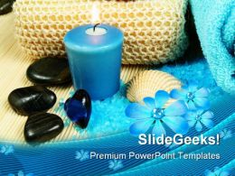 Spa In Blue Beauty PowerPoint Templates And PowerPoint Backgrounds 0311