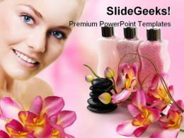 Spa Items Beauty PowerPoint Templates And PowerPoint Backgrounds 0211