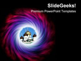 Space Abstract PowerPoint Templates And PowerPoint Backgrounds 0811