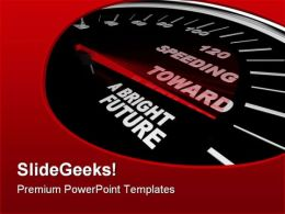 Speeding Towards Future PowerPoint Templates And PowerPoint Backgrounds 0811