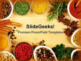 Spices Food PowerPoint Templates And PowerPoint Backgrounds 0311