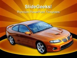 Sports Car Travel PowerPoint Templates And PowerPoint Backgrounds 0511